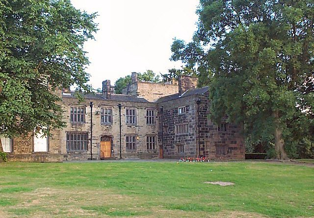 Bolling Hall, Bradford. Ancestral Home of Richard Bolling